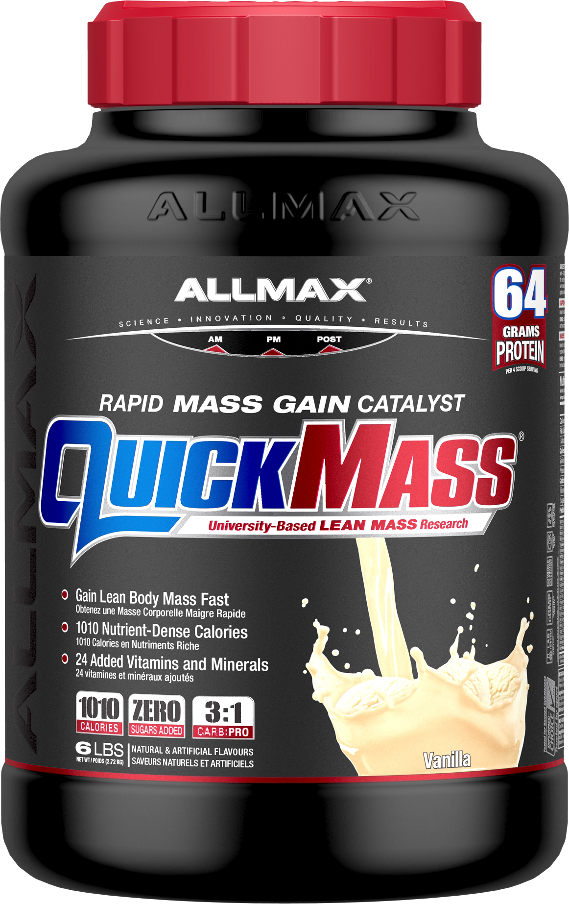Allmax Nutrition Allmax - Quickmass - Vanilla - 6lbs