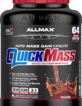 Allmax Nutrition Quick Mass _ Chocolate 6lbs