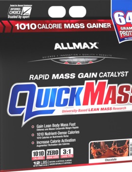 Allmax Nutrition Allmax - Quickmass - Chocolate - 12lbs