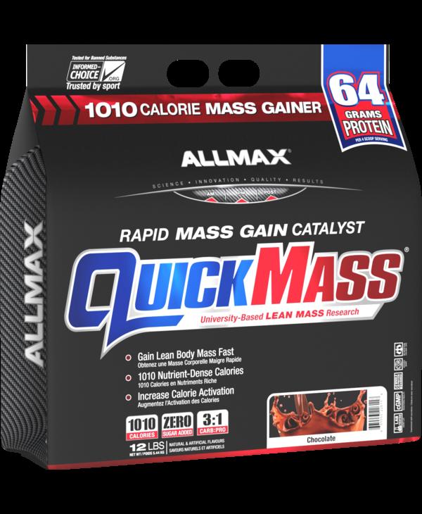 Allmax - Quickmass - Chocolate - 12lbs