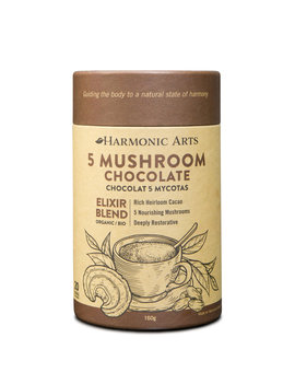 Harmonic Arts Harmonic Arts - 5 Mushroom Chocolate - 160 g