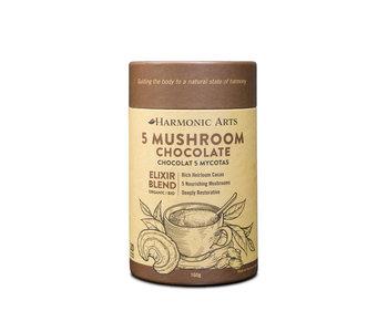 Harmonic Arts - 5 Mushroom Chocolate - 160 g