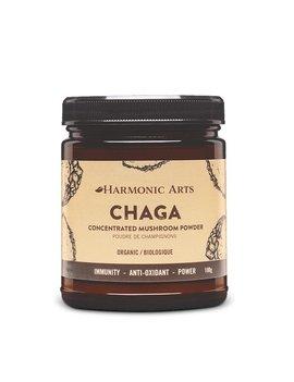 Harmonic Arts Harmonic Arts - Chaga Concentrated Mushroom powder - 45g
