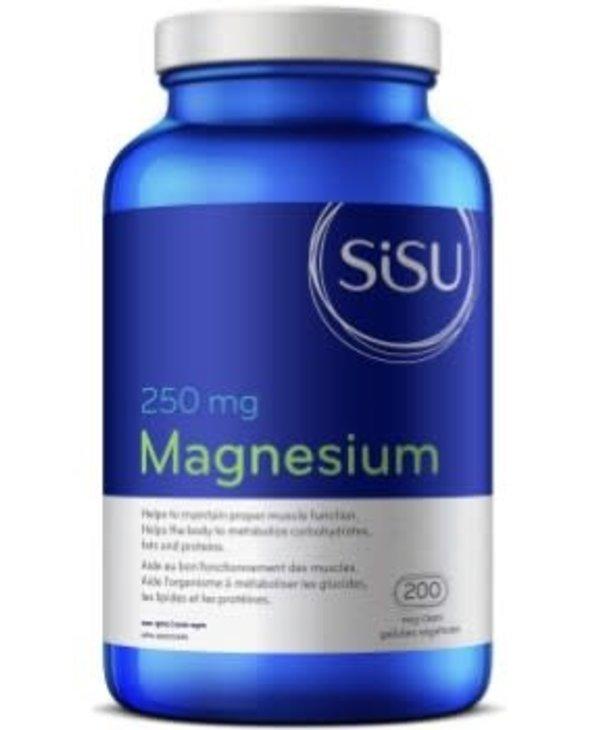 Sisu - Magnesium 250 mg - 200 V-Caps