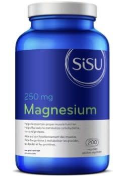 SISU Sisu - Magnesium 250 mg - 200 V-Caps