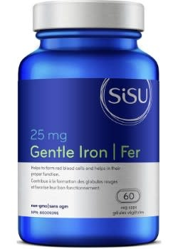 SISU Sisu - Gentle Iron 25 mg - 60 Caps