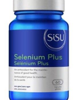 SISU Sisu - Selenium Plus 200 mcg - 60 Caps