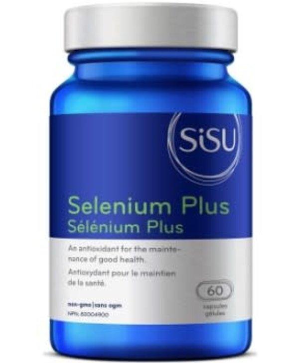 Sisu - Selenium Plus 200 mcg - 60 Caps