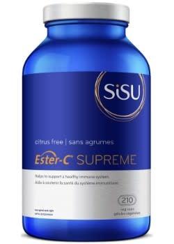 SISU Sisu - Ester-C Supreme - Citrus Free - 210 V-Caps