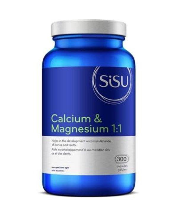 Sisu - Calcium & Magnesium 1:1 - 300 Caps