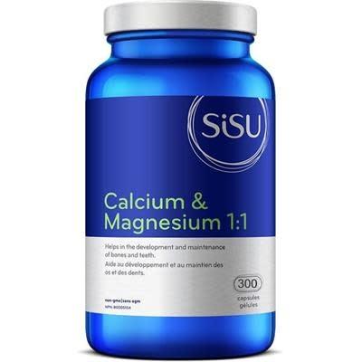 SISU Sisu - Calcium & Magnesium 1:1 - 300 Caps