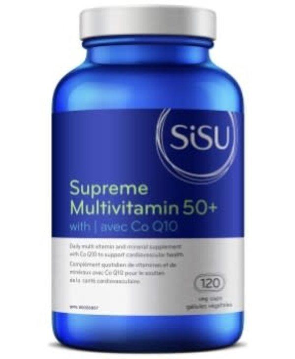 Sisu - Supreme Multivitamin 50+ - 120 V-Caps