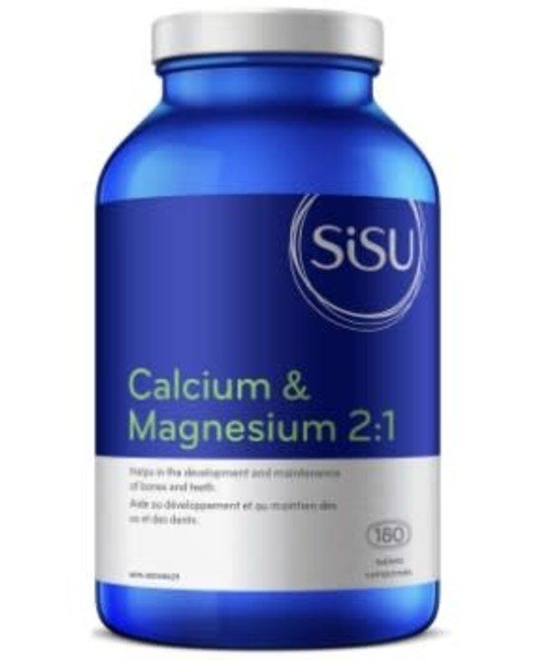 Sisu - Calcium & Magnesium 2:1 - 180 Tabs