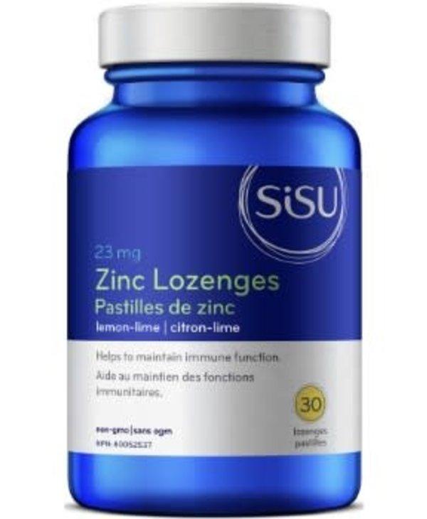 Sisu - Zinc Lozenges - Lemon-Lime - 30 V-Caps