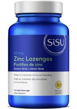 SISU Sisu - Zinc Lozenges - Lemon-Lime - 30 V-Caps