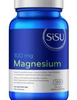 SISU Sisu - Magnesium 100 mg - 100 V-Caps