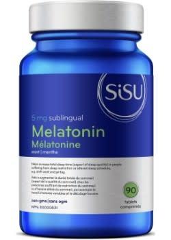 SISU Sisu - Melatonin  5mg - Mint - 90 Sublingual Tabs