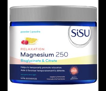 SiSU - Relaxation Magnesium 250 - Raspberry Lemonade - 265 grams