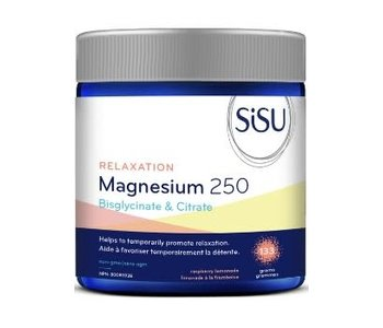 SiSU - Relaxation Magnesium 250 - Raspberry Lemonade - 133grams