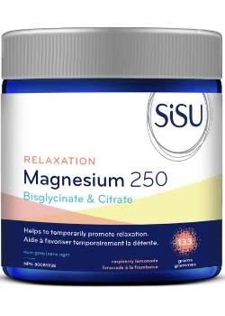 SISU SiSU - Relaxation Magnesium 250 - Raspberry Lemonade - 133grams