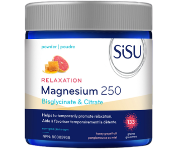 SiSU - Relaxation Magnesium 250 - Honey Grapefruit - 133 grams