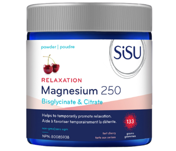 SiSU - Relaxation Magnesium 250 - Tart Cherry - 133grams