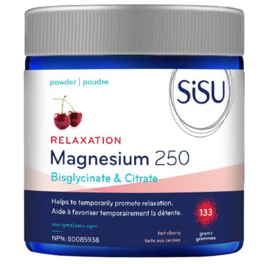 SISU SiSU - Relaxation Magnesium 250 - Tart Cherry - 133grams
