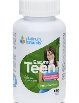 Platinum Naturals - CDN Platinum Naturals - Easymulti Teen for Young Women - 120 SG
