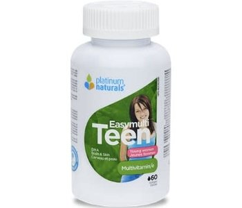 Platinum Naturals - Easymulti Teen for Young Women - 120 SG