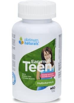 Platinum Naturals - CDN Platinum Naturals - Easymulti Teen for Young Women - 120 SG