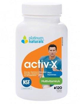 Platinum Naturals - CDN Platinum Naturals - Activ-X Men - 120 SG