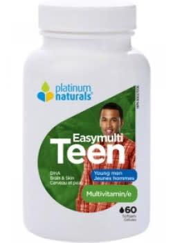 Platinum Naturals - CDN Platinum Naturals - Easymulti Teen for Young Men - 120 SG