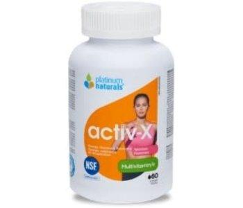 Platinum Naturals - Activ-X Women - 60 SG