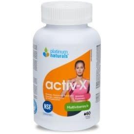 Platinum Naturals - CDN Platinum Naturals - Activ-X Women - 60 SG