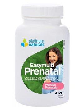 Platinum Naturals - CDN Platinum Naturals - Easymulti Prenatal - 120 Caps