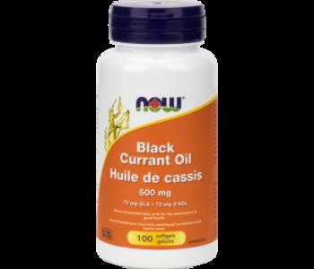 Now - Black Currant Oil  500 mg - 100 SG