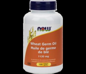 Now - Wheat Germ Oil - 100 SG
