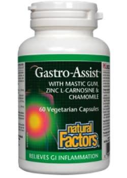 Natural Factors Natural Factors - Gastro-Assist - 60 V-Caps