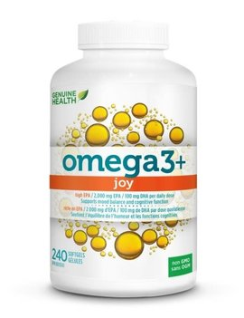 Genuine Health Genuine Health - Omega 3+ Joy - 240 SG