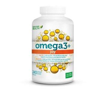 Genuine Health - Omega 3+ Joy - 240 SG
