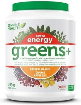 Genuine Health Genuine Health - Greens+ Extra Energy - Natural Orange - 399g