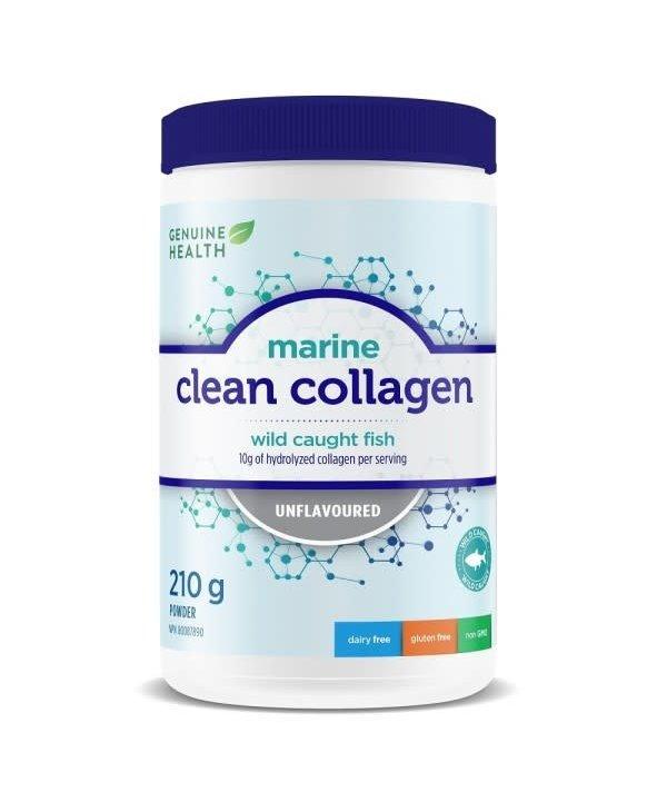 Genuine Health - Clean Collagen - Marine - Unflavoured - 210 g