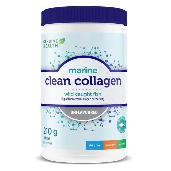 Genuine Health Genuine Health - Clean Collagen - Marine - Unflavoured - 210 g