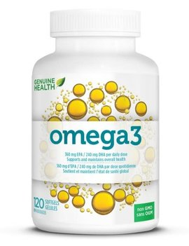 Genuine Health Genuine Health - Omega 3 - 120 SG