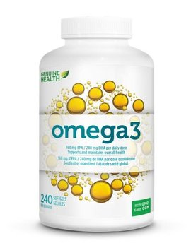 Genuine Health Genuine Health - Omega 3 - 240 SG