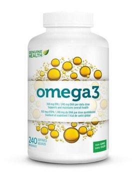 Genuine Health Genuine Health - Omega 3 - 240 SG