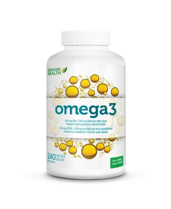 Genuine Health - Omega 3 - 240 SG