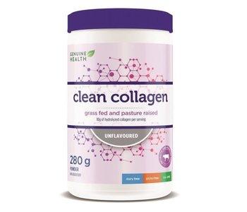 Genuine Health - Clean Collagen - Bovine - Unflavoured - 280g