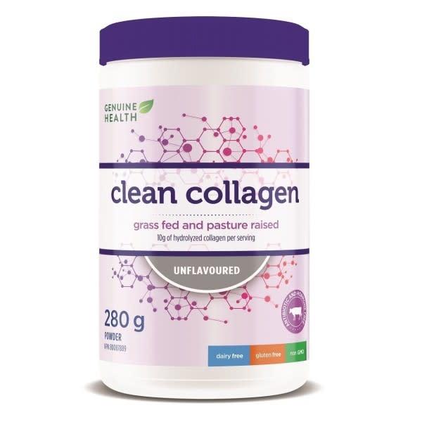 Genuine Health Genuine Health - Clean Collagen - Bovine - Unflavoured - 280g