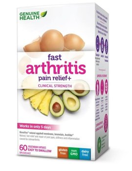 Genuine Health Genuine Health - Fast Arthritis Pain Relief+ - 60 V-Caps